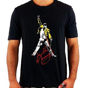 Camiseta Freddie Mercury - Queen - Vários Modelos