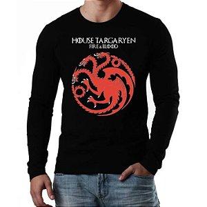 Camiseta House Targaryen - Game Of Thrones - Vários Modelos