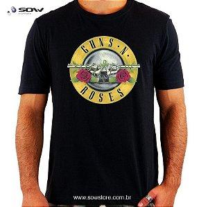 Camiseta Guns N' Roses - Classic - Vários Modelos