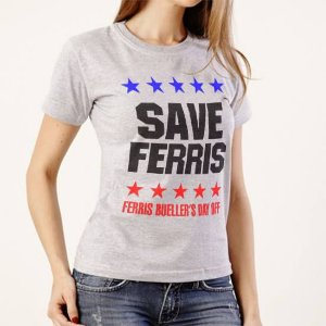 Camiseta Save Ferris - Curtindo a Vida Adoidado