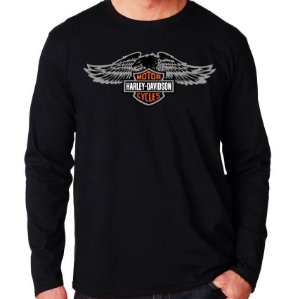 Camiseta Harley Davidson Circle - Vários Modelos