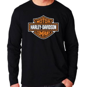 Camiseta Harley Davidson - Vários Modelos
