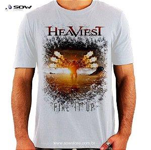 Camiseta Heaviest - Fire It Up - Vários Modelos