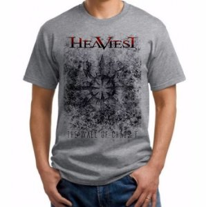 Camiseta Heaviest - The Wall Of Chaos-t - Chaos