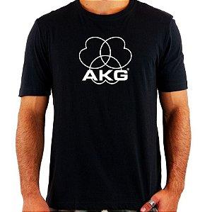 Camiseta AKG - Vários Modelos