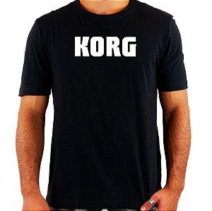 Camiseta Korg - Vários Modelos