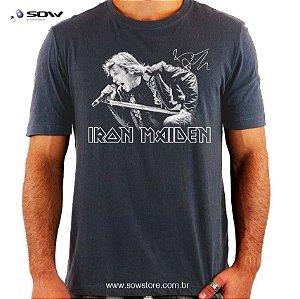 Camiseta Bruce Dickinson - Iron Maiden