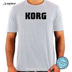 Camiseta Korg - Malha Fria