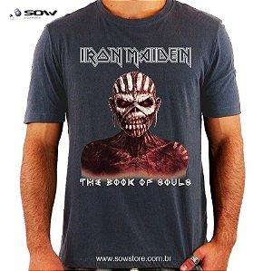 Camiseta Iron Maiden - The Book Of Souls