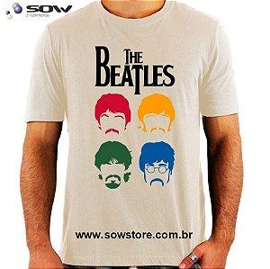 Camiseta The Beatles Color - Vários Modelos