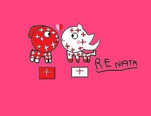 Suíça e Inglaterra-Bandeiras Namorados