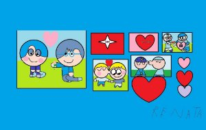 Namorados Azuis