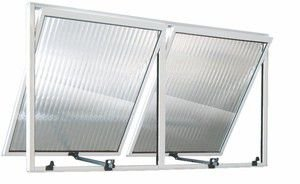 Vitro maxim ar aluminio branco 02 seções