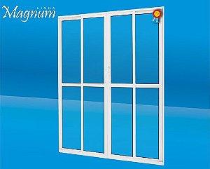 Porta de Correr 04 Folhas Magnum Atlantica