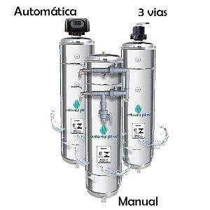 Filtro Central em Aço Inox 304 - 1500 L/h a 2000 L/h