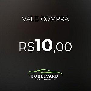 Vale-compras R$ 10,00