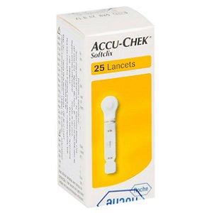 Lanceta Accu-Chek Softclix II com 25 Roche