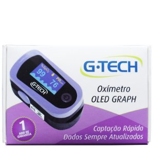 OXÍMETRO DIGITAL OLED GRAPH G-TECH