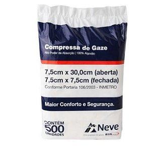 COMPRESSA DE GAZES 13 FIOS