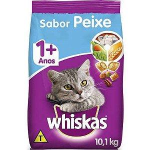 Whiskas Peixe Gato Adulto 10,1kg