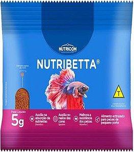 Ração Nutribetta Para Peixes 5g