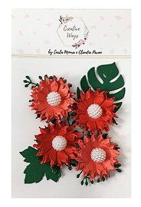 Flores Papel Scrapbook Creative Ways - Canada´s Wonderland