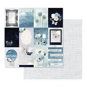 Papel Para Scrap - Apreciar a Jornada - Cards - Decore Crafts