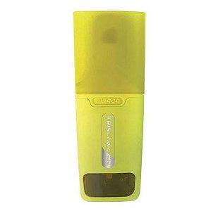 Caneta Marca Texto Pastel Liqeo Mini - Amarelo - Tris