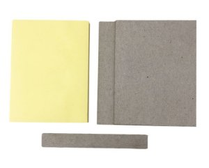 kit Holler + Bloco Liso C/ 100 Post It Amarelo Claro 10x8 cm