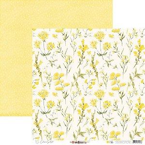 Papel Para Scrap - Happy - Yellow Happy Base 36 - Carina Sartor