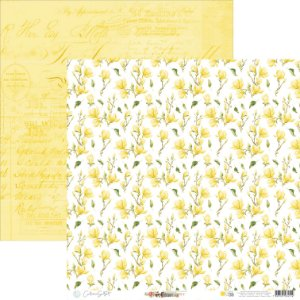 Papel Para Scrap - Happy - Yellow Happy Base 39 - Carina Sartor