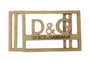 Kit Shaker Box Dolce & Gabbana G - 12 cm - SB054G