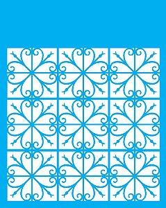 Stencil 20x25 Estamparia Vitral - OPA 2272