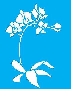 Stencil 20x25 Flor Phalaenopsis - OPA 1454