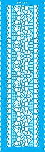 Stencil 10X30  - Negativo Renda IX OPA 2837