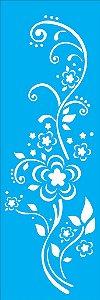 Stencil 10X30 Arabesco Floral 2 - OPA 1460