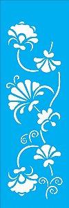 Stencil 10X30 Arabesco Floral - OPA 1078