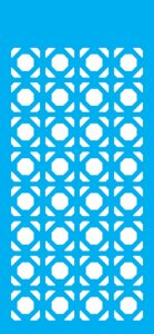 Stencil 7x15 Simples – Estampa Geométrica OPA 1956