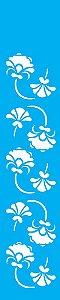 Stencil 6X30 Simples – Arabesco Floral OPA 1073