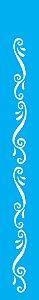 Stencil 4X30 Simples – Arabesco Barroco OPA 0763
