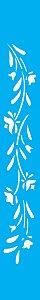 Stencil 4X30 Simples – Flores Papoulas OPA 0195