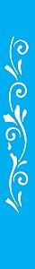 Stencil 4X30 Simples – Arabesco Espiral OPA 0056