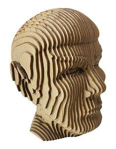 Busto Rosto Spock 3D Laser Em MDF Decoração