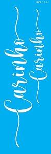 Stencil 10X30  - Palavras Lettering Carinho OPA 3132