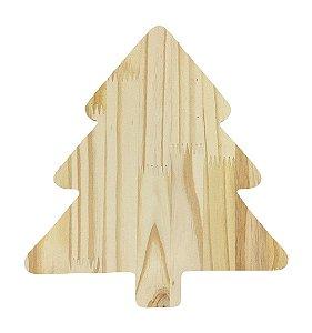 Tábua Pinus Aperitivo Árvore de Natal M Mesa Posta 30x28 cm