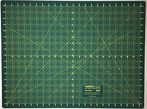 Base De Corte Dupla Face 90 X 60 Cm - Verde Scrapbooking