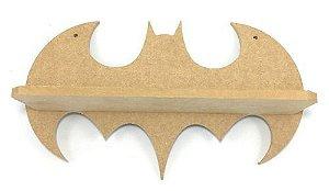 Prateleira Batman Grande Decoração Mdf Infantil 55x25x17cm