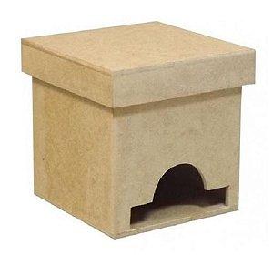 Caixa De Chá Pequena - 8x8x8 Lisa