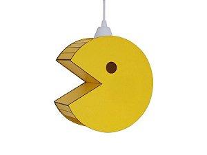 Luminária Suspensa Personalizado Pacman Decorativo