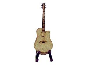 Miniatura Violão Com Suporte A116